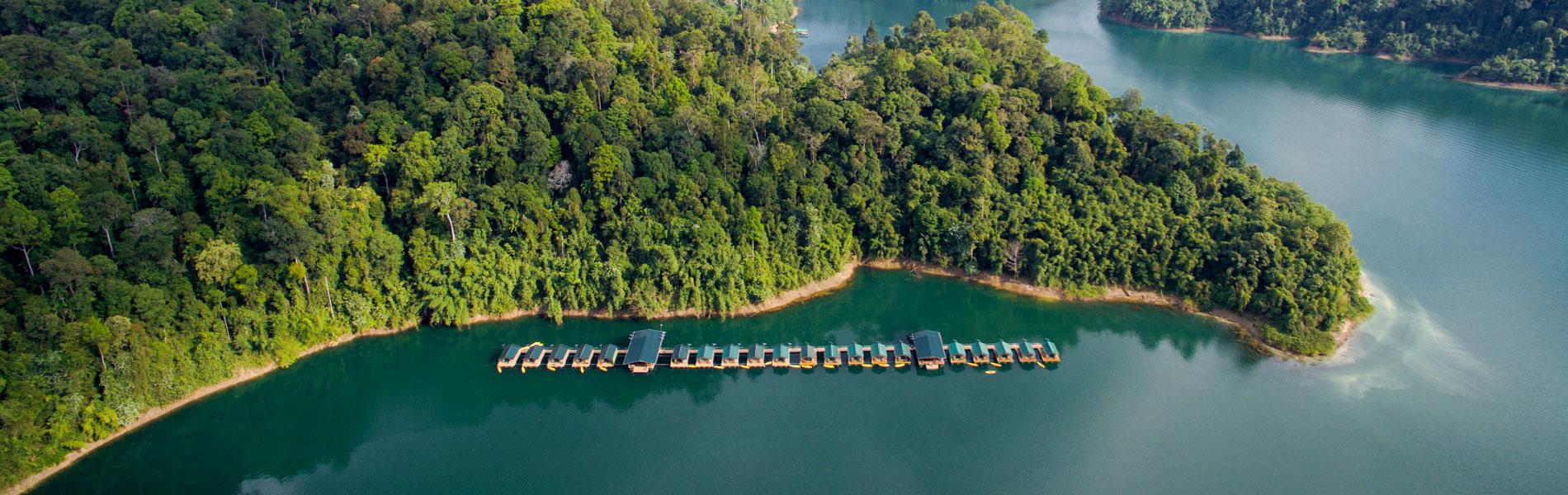 Rainforest Camp Lake