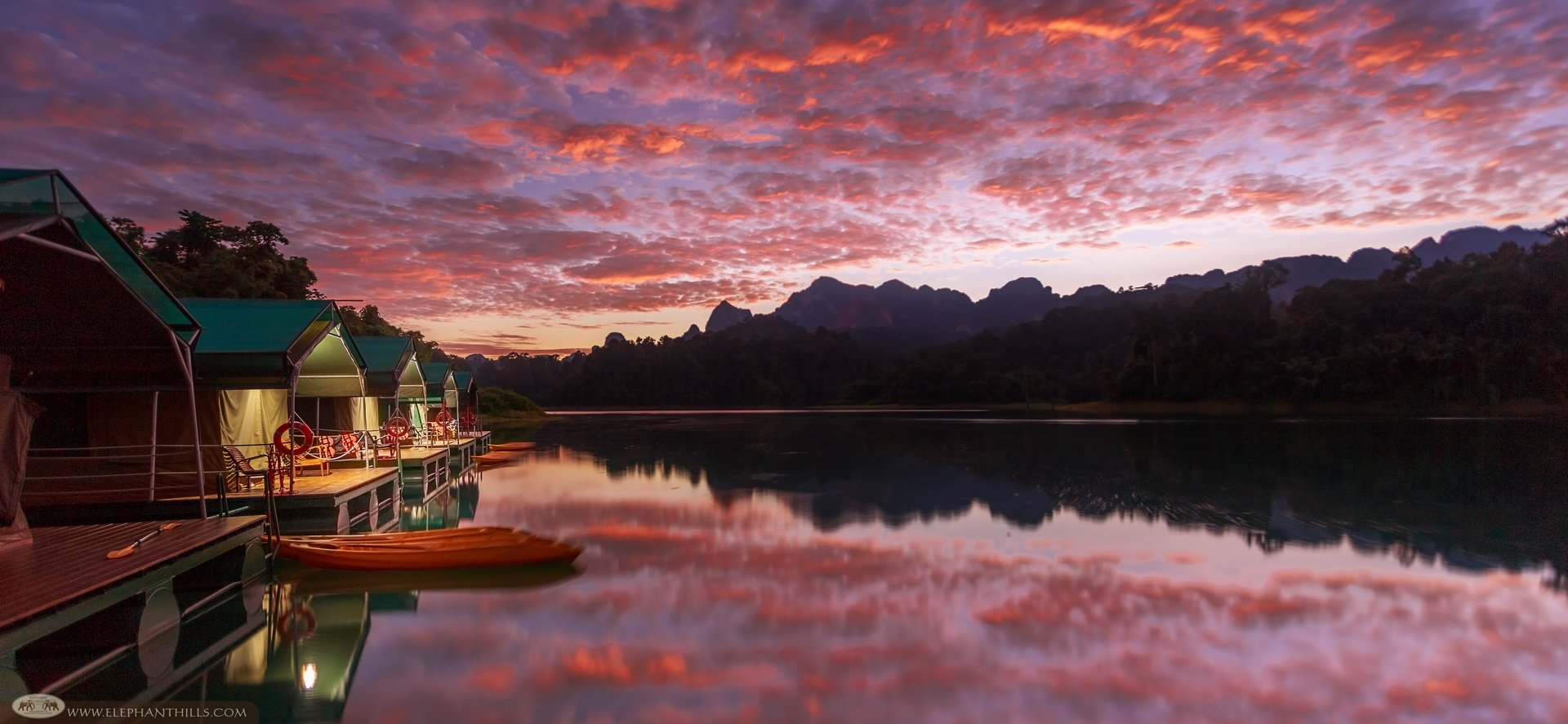 For idyllic views, Rainforest Camp is the best hotel in Khao Sok as voted by TripAdvisor